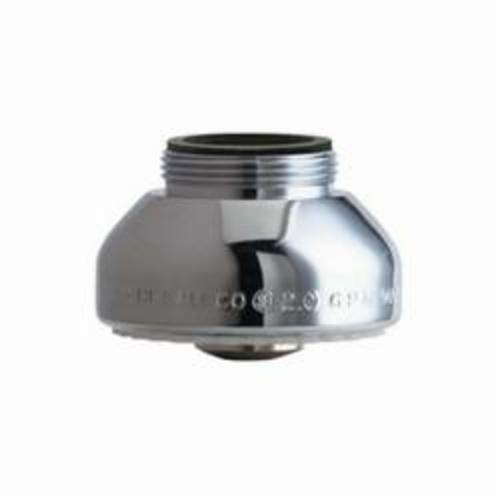 Chicago Faucet® E15JKABCP Multi-Stream Spray, 1.5 gpm, 13/16-27 UNS Male, Brass, Domestic