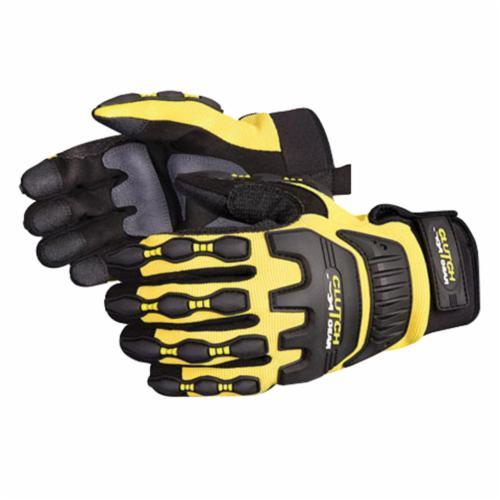 Clutch Gear® MXVSB/L Anti-Impact Gloves, L, TPR/Kevlar®, Slip-On Cuff