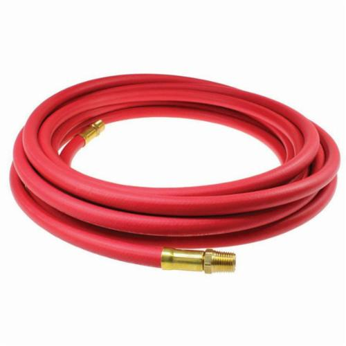 Parker® 801-8-GRA-RL 1-Braid Multi-Purpose Hose, 1/2 in Nominal, 300 ft L, 300 psi Working, Fiber Braid/Synthetic Rubber Inner Tube/Synthetic Rubber Cover