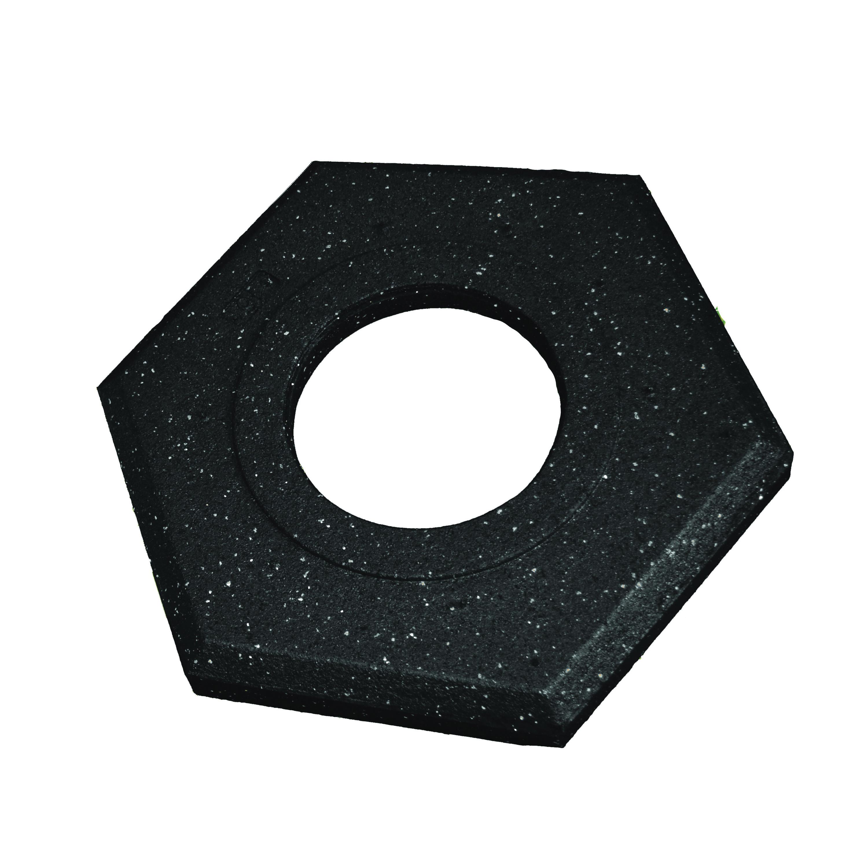 Cortina® Grip N Go™ 03-750-4EG Channelizer Cone, 4 in Top x 7.56 in Base Dia Orange Polyethylene Post, 4 Stripes