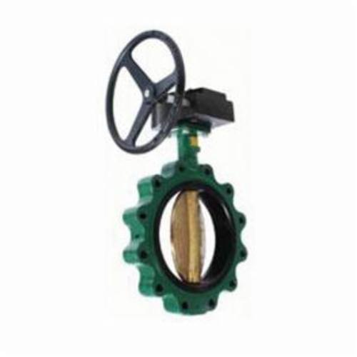 CRANE® Center Line® 03-CV044352 200 Resilient Seated Butterfly Valve, 3 in Nominal, 125/150 lb, Ductile Iron Body, PTFE Softgoods