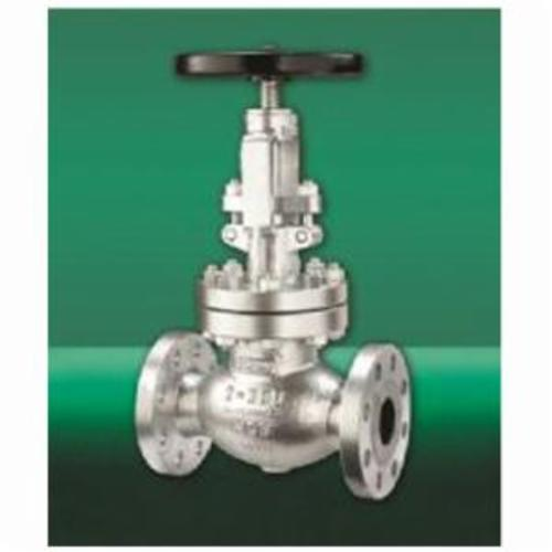 CRANE® 151XU-2-1/2 Globe Valve, 1-1/2 in Nominal, Flanged End Style, 300 lb, Cast Steel Body, Hand Wheel Actuator