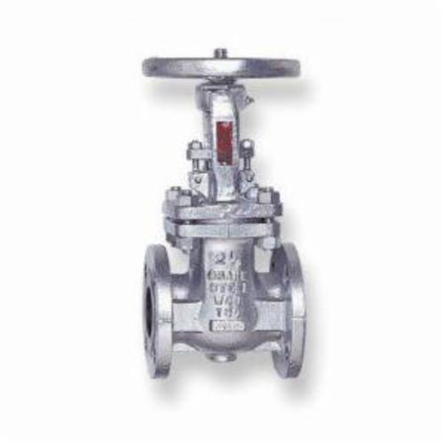 CRANE® 33XUF-2 33 Series Gate Valve, 2 in Nominal, Flanged End Style, 300 lb, Cast Steel Body, Hand Wheel Actuator