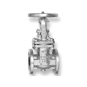 CRANE® 47XUF-6 47 Series Gate Valve, 6 in Nominal, Flanged End Style, 150 lb, Cast Steel Body, Hand Wheel Actuator