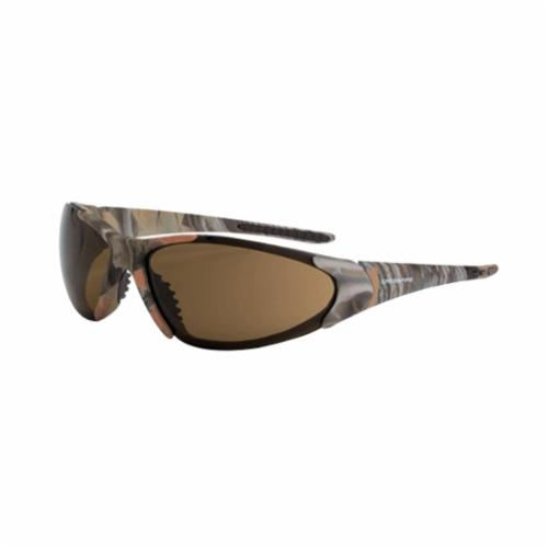 CrossFire® 181212 Core Premium Safety Eyewear, Hard Coated, Gold Mirror Lens, Full Framed Frame, Emerald Pearl, TR90 Frame, Polycarbonate Lens