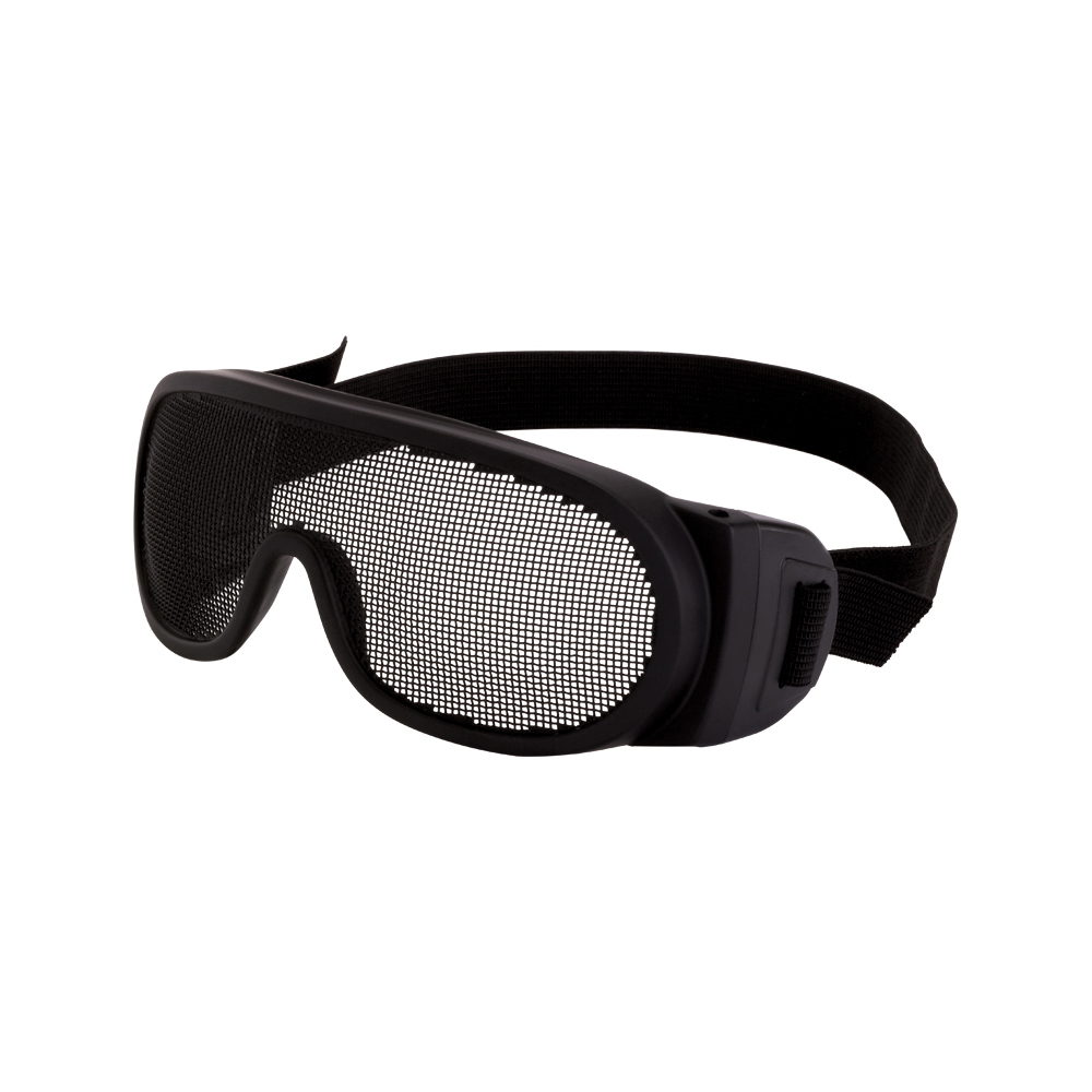 CrossFire® 19218 OTG Safety Eyewear, Full Framed Frame, Matte Black, Polycarbonate Frame, ANSI Z87.1