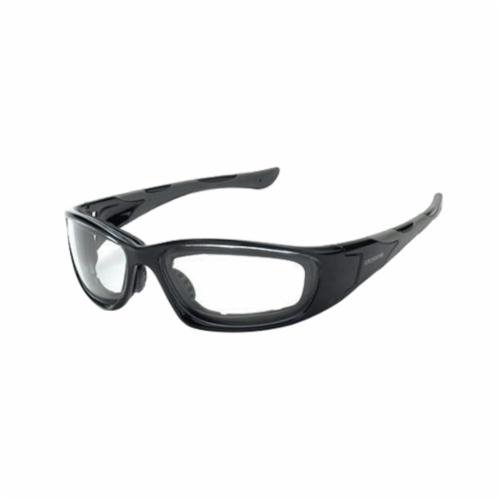CrossFire® 24116 AF MP7 Safety Eyewear, Anti-Fog/Hard Coat/Impact Resistant, Brown Lens, Full Framed Frame, Crystal Brown, TR90/Foam Lined Frame, Polycarbonate Lens, ANSI Z87.1+