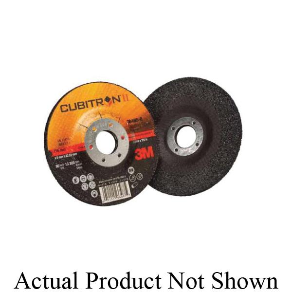 Cubitron™ II 051125-87102 732U Linered Open Coated PSA Backup Pad, 6 in Dia Disc, 220 Grit, Very Fine Grade, Ceramic Abrasive, Paper Backing