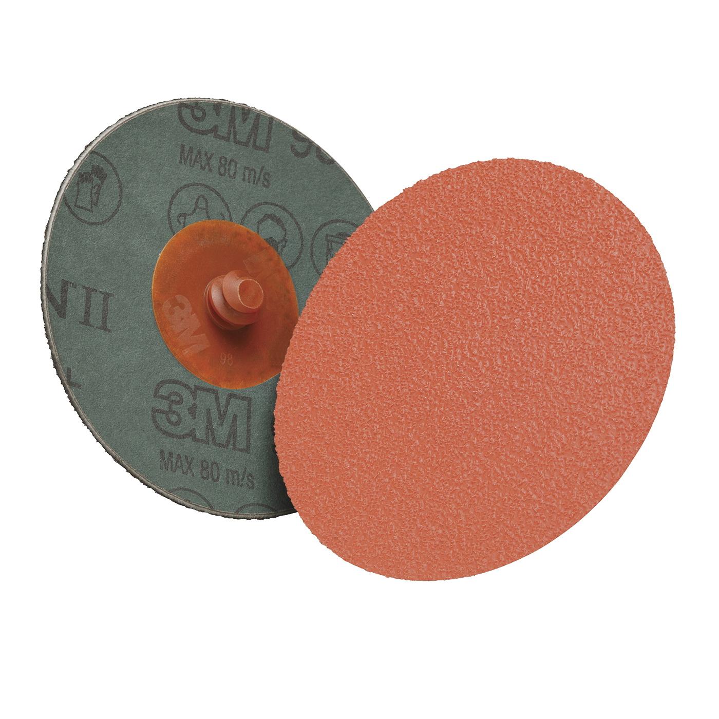 Cubitron™ II 051125-87153 Standard Depressed Center Wheel, 9 in Dia x 1/4 in THK, 36 Grit, Ceramic Abrasive