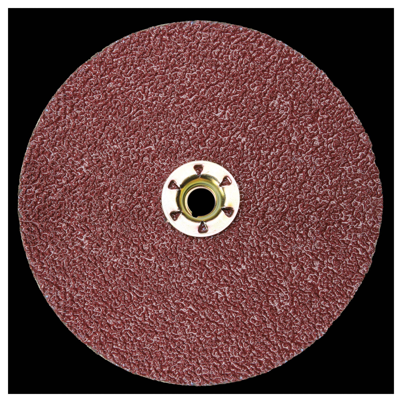 Cubitron™ II Roloc™ 051125-94953 987C Close Coated Premium Quick-Change Closed Coated Abrasive Disc, 3 in Dia Disc, 36+ Grit, Extra Coarse Grade, Ceramic Abrasive, Quick-Change Type TR Attachment