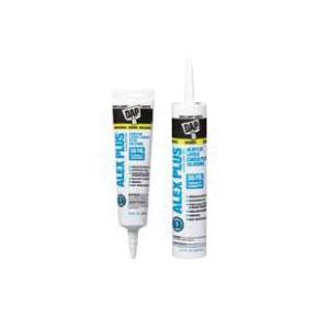 Red Devil® 0870 Adhesive Caulk Sealant, 10.1 oz Cartridge, Crystal Clear, Kraton Thermoplastic Rubber Blend Base