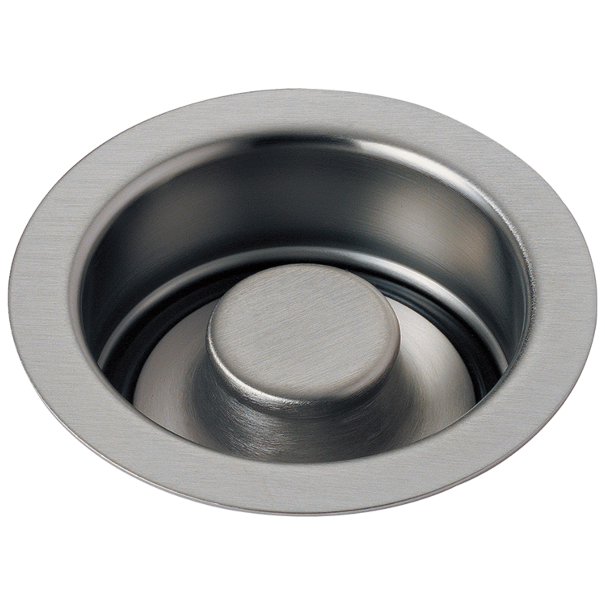 DELTA® 72030-SS Disposal and Flange Stopper, For Use With Kitchen Sink, Brass, Brilliance® Stainless Steel, Import