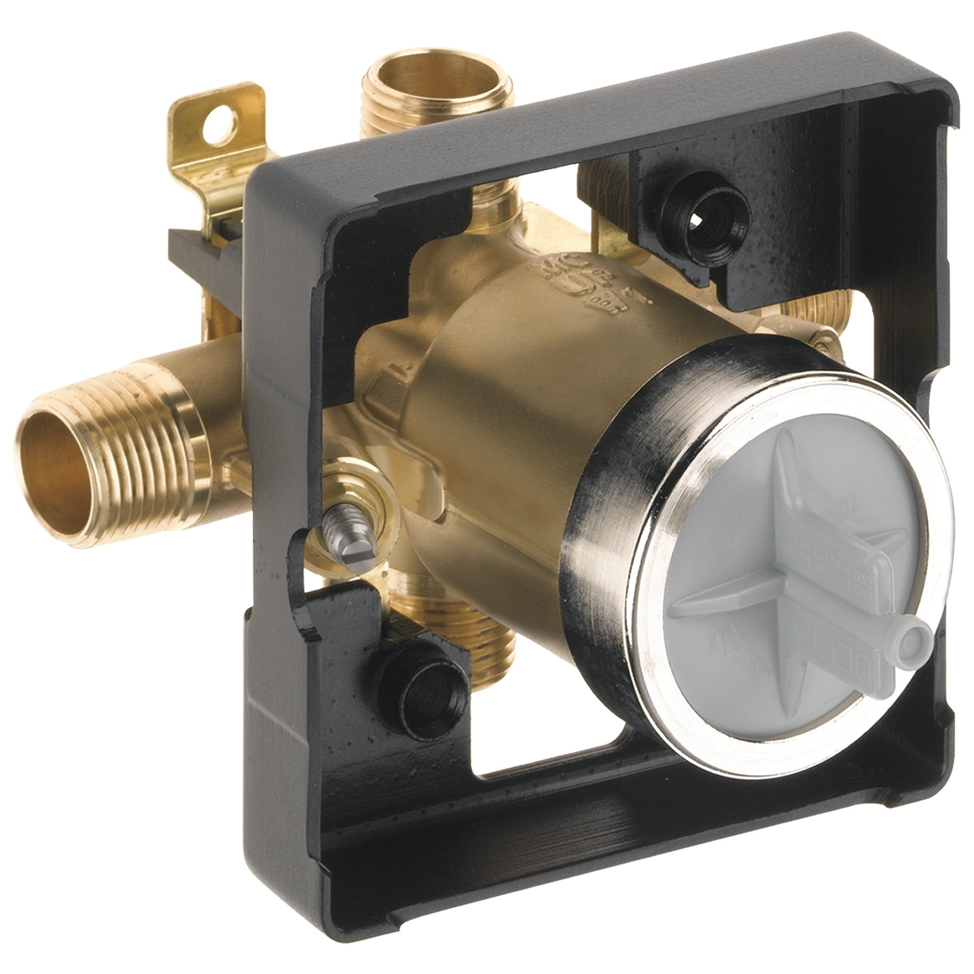 DELTA® R10000-UNWS Universal Tub and Shower Rough-In Valve Body, Forged Brass Body, Domestic
