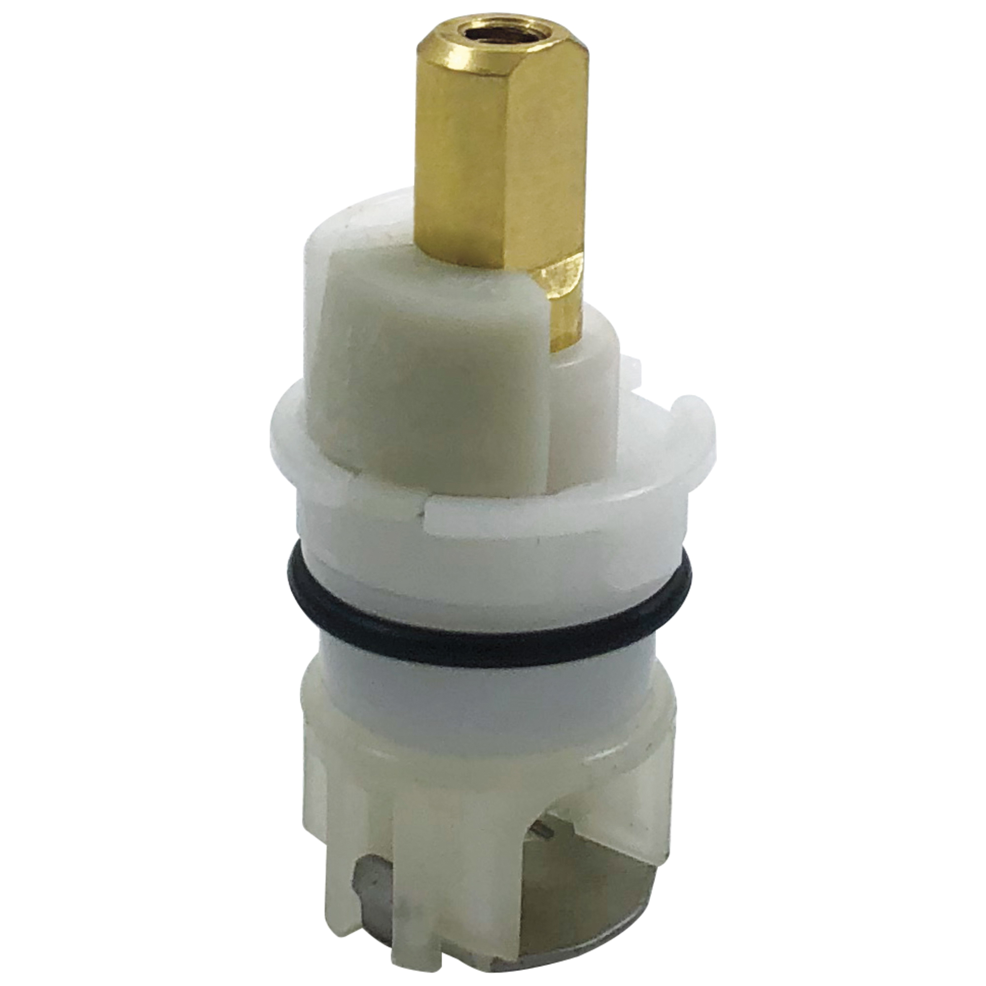DELTA® RP25513 Replacement Stem Assembly With 1/4 Turn Stop, For Use With 2-Handle Faucet, Brass, Domestic