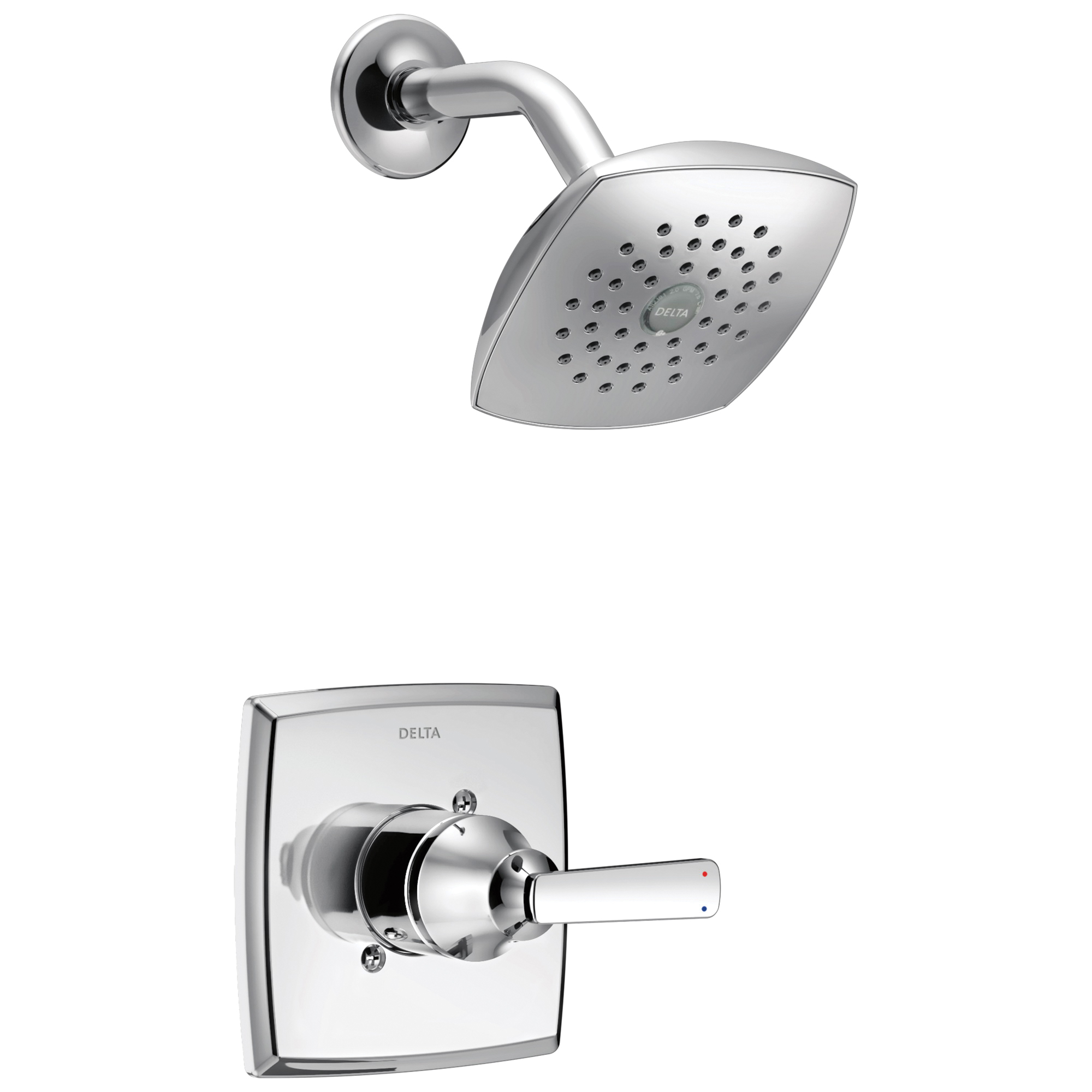 DELTA® T14264 Monitor® 14 Shower Trim, 1.75 gpm Shower, Polished Chrome
