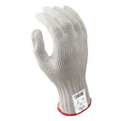 D-FLEX® 917C-10LH Medium Weight Cut Resistant Gloves, XL/SZ 10, PVC Coating, Stainless Steel Engineered Fiber, Knit Wrist Cuff, Resists: Abrasion, Cut, Puncture and Tear, ANSI Cut-Resistance Level: A6, Left Hand