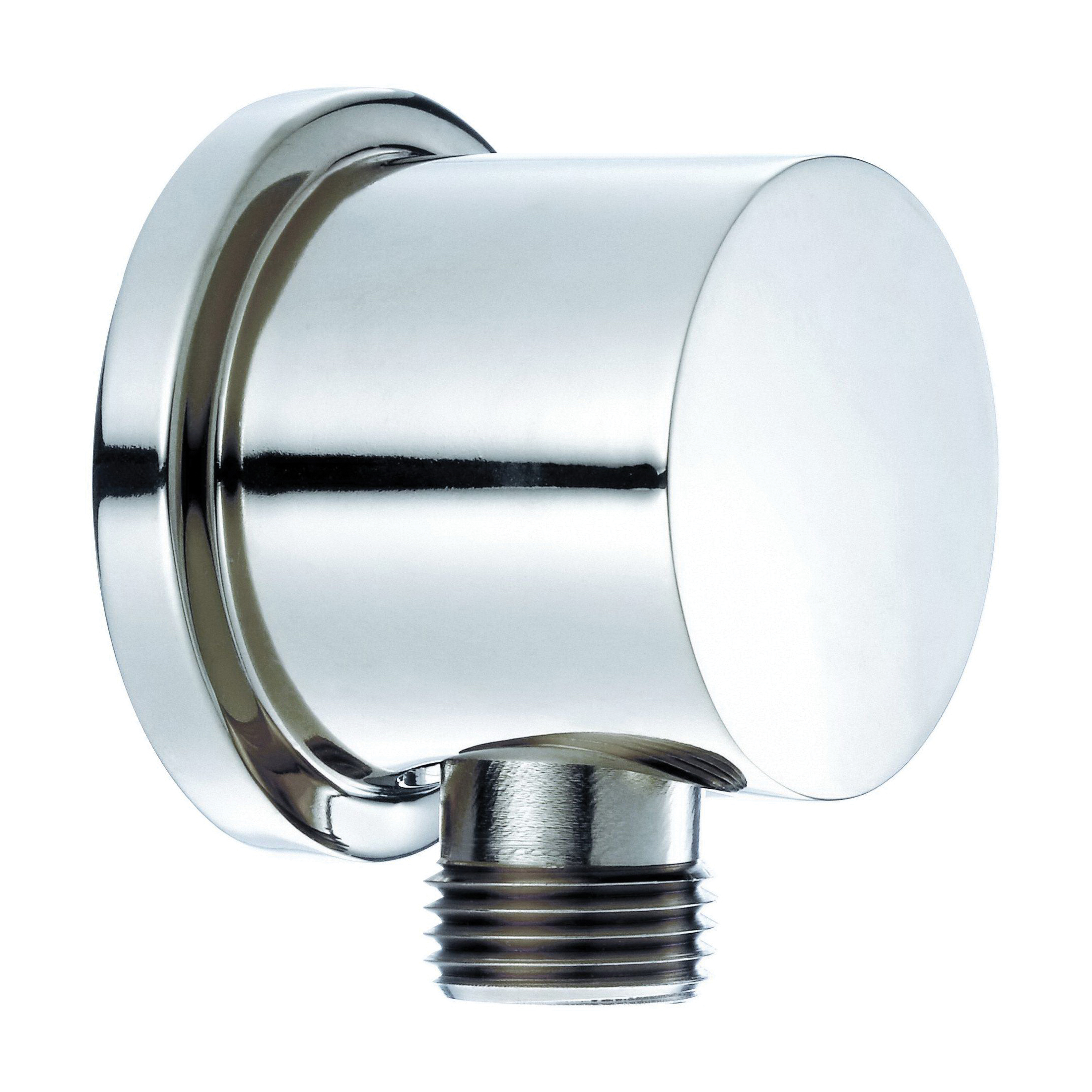 Danze® D469058 Round Wall Mount Supply Elbow, 1/2-14, NPSM, Brass