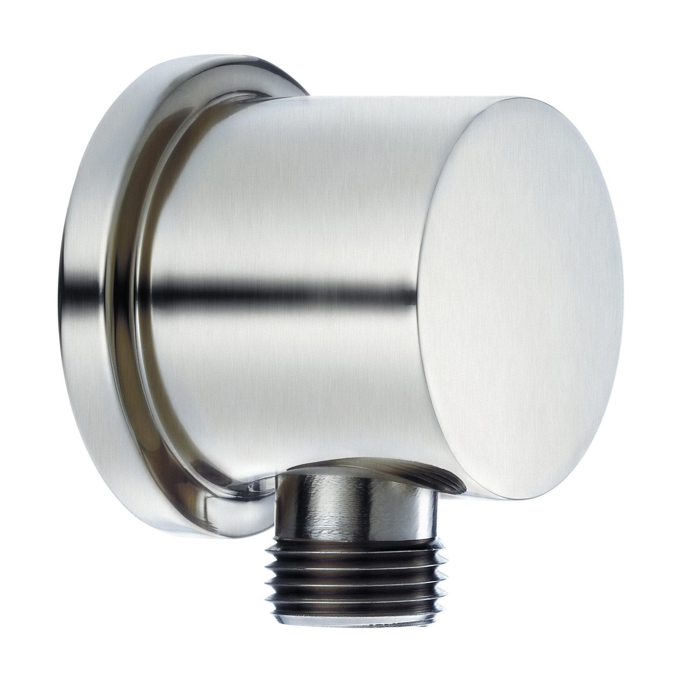 Danze® D469058BN Round Wall Mount Supply Elbow, 1/2-14, NPSM, Brass