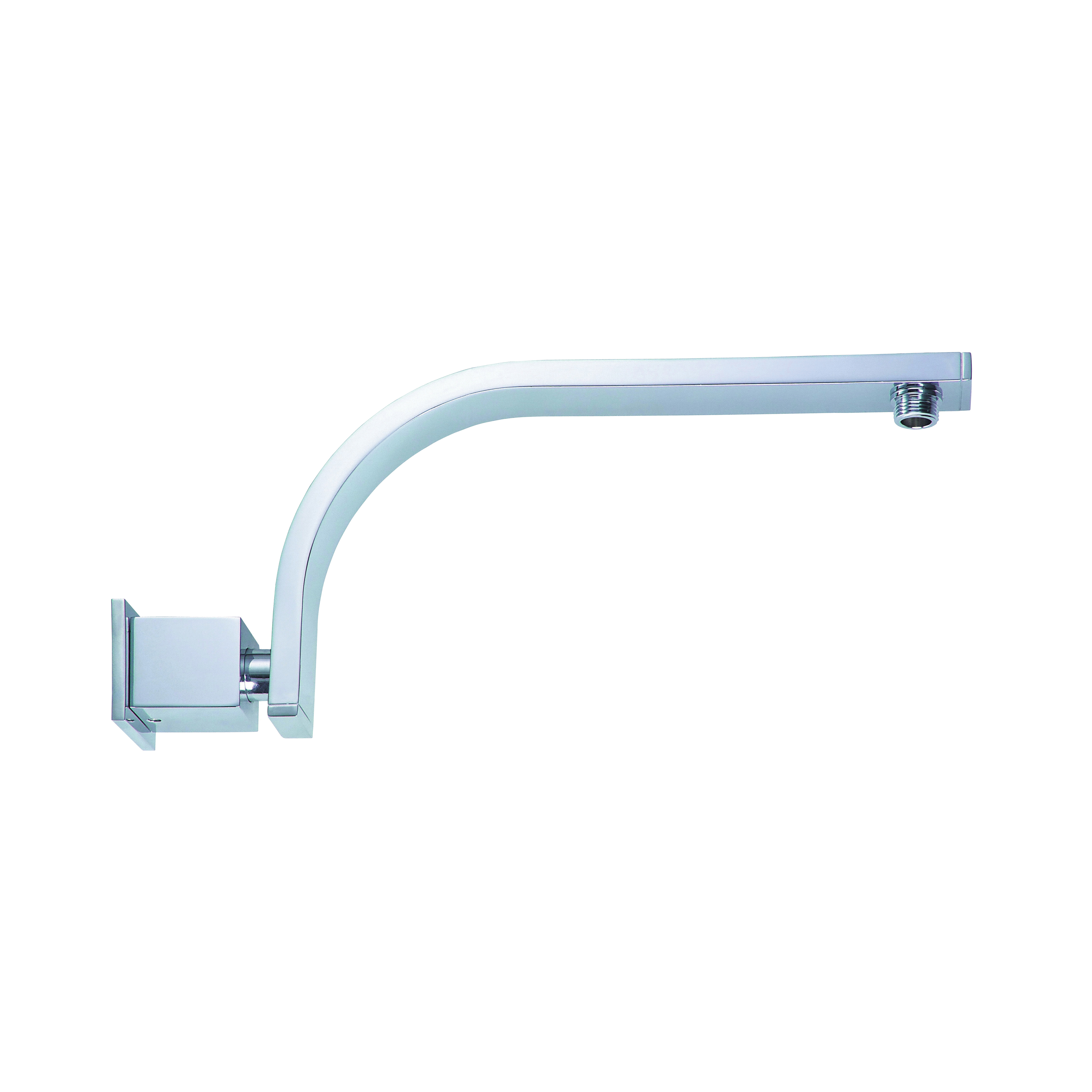 Danze® D481144 Sirius® Shower Arm With Escutcheon, 15 in L Brass Arm, 1/2-14 NPSM