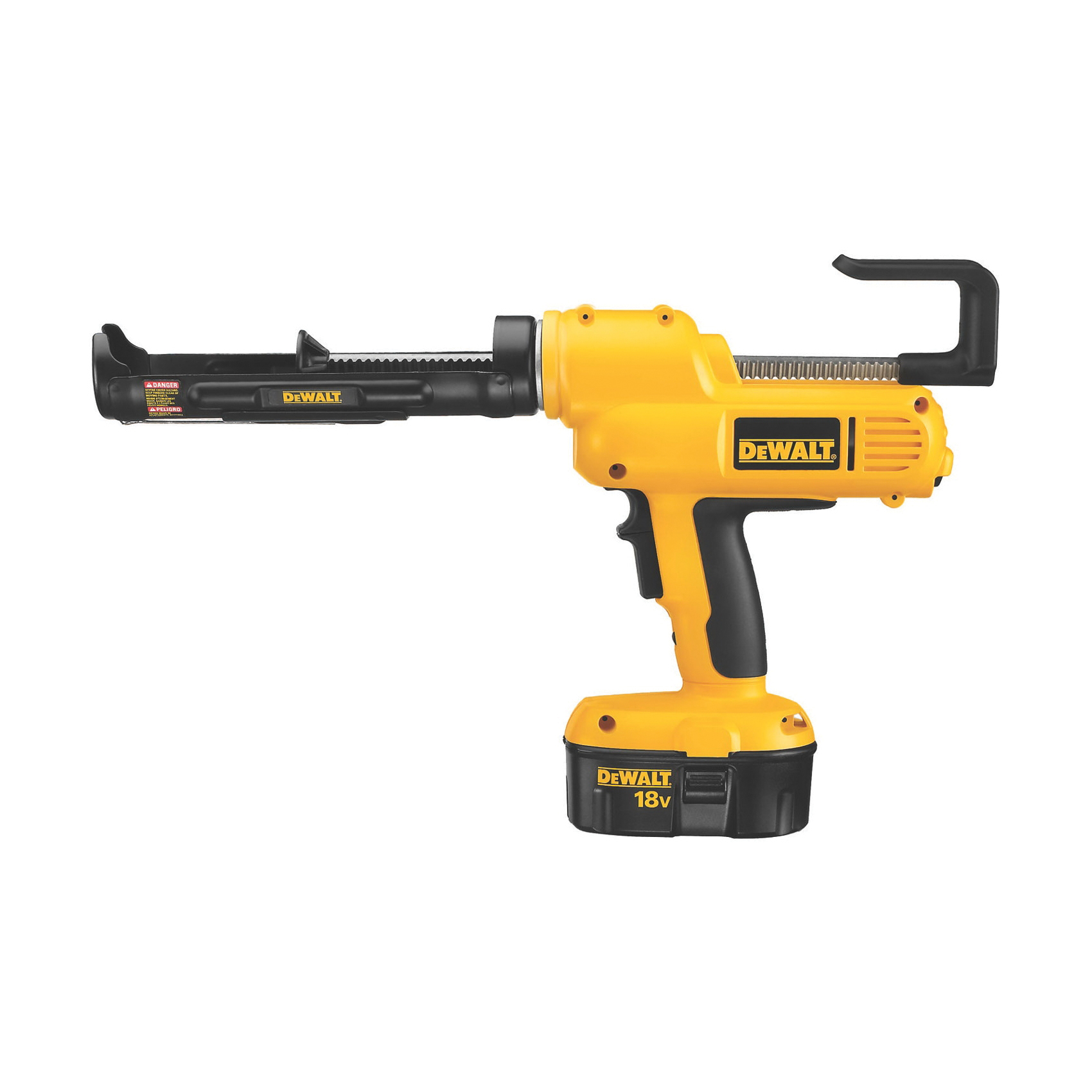 DeWALT® DC545B Cordless Adhesive Gun, 10 oz Capacity, 650 lb, 18 VDC, Ni-Cd Battery, Tool Only