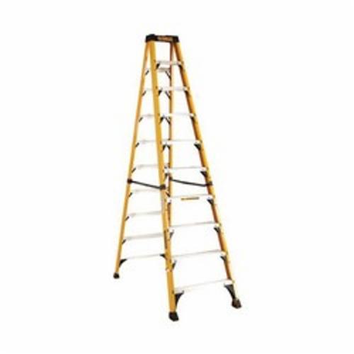 DeWALT® by Louisville® DXL3410-06 Type IAA Step Ladder, 6 ft H Ladder, 375 lb Load, 5 Steps, Fiberglass