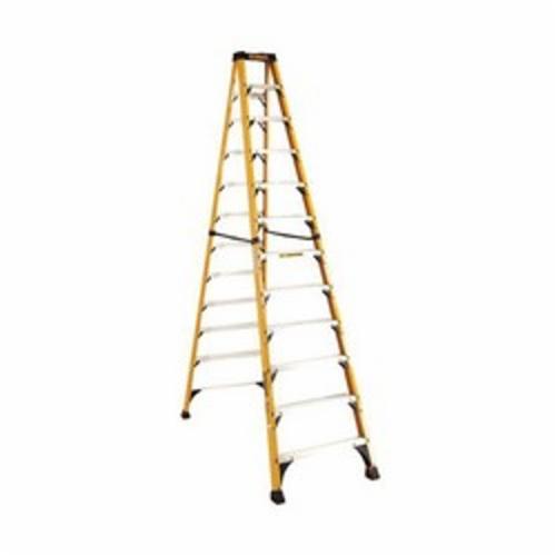 DeWALT® by Louisville® DXL3410-10 Type IAA Step Ladder, 10 ft H Ladder, 375 lb Load, 9 Steps, Fiberglass