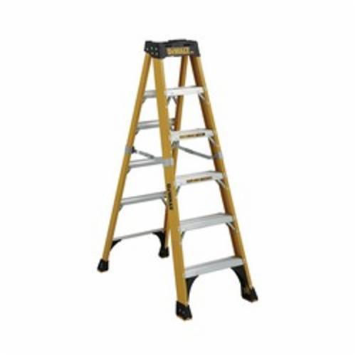DeWALT® by Louisville® DXL3410-12 Type IAA Step Ladder, 12 ft H Ladder, 375 lb Load, 11 Steps, Fiberglass