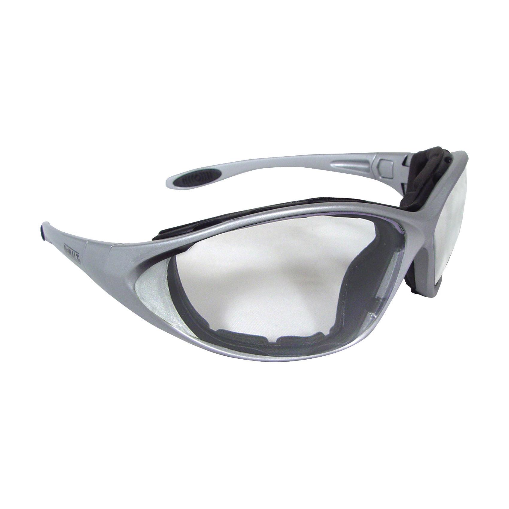 DeWALT® by Radians® DPG94-2D Dominator™ DPG94 Safety Glasses, Hard Coated, Smoke Lens, Full Framed Frame, Black, Plastic Frame, Polycarbonate Lens, ANSI Z87.1+