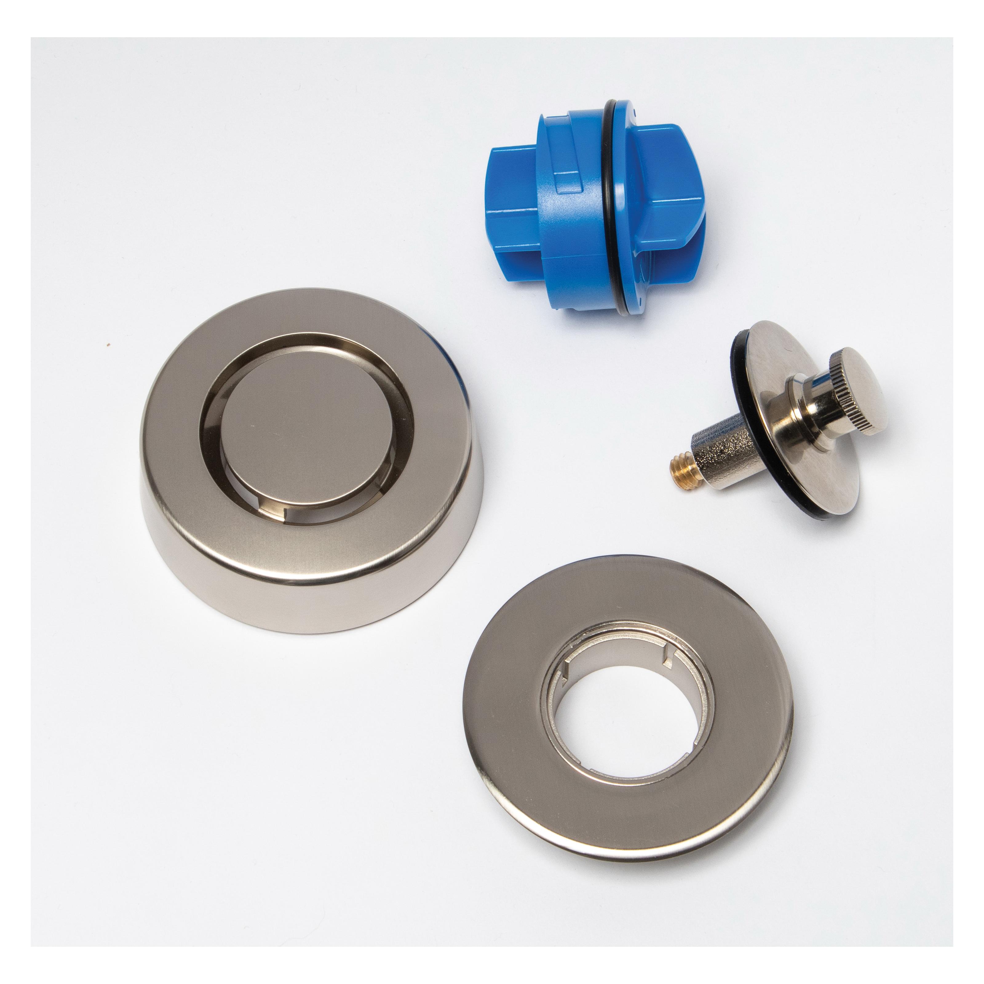 Dearborn® True Blue® K99BN Bathwaste Trim Kit, Brushed Nickel, Import