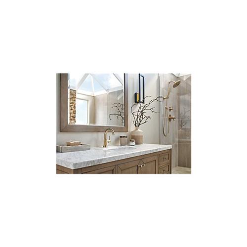DELTA® 50560-CZ Cassidy™ Hand Shower Wall Elbow, 1/2 in, NPT x NPSM, Brass, Import