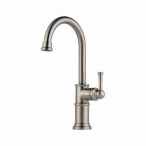 Brizo® 61025LF-SS Bar Faucet, Artesso®, Stainless Steel, 1 Handle, 1.8 gpm