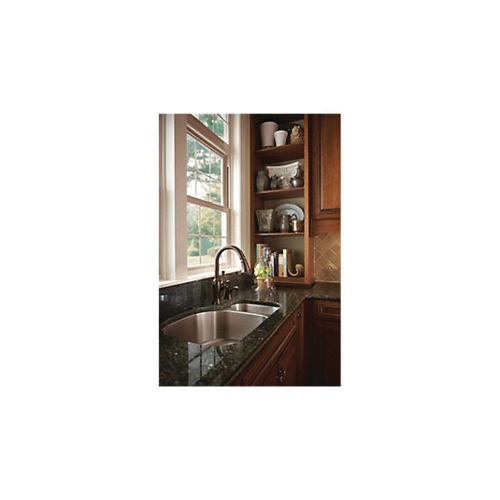 Brizo® 63003LF-RB Talo® Kitchen Faucet, 1.8 gpm Flow Rate, Venetian Bronze, 1 Handles, 1 Faucet Holes, Function: Traditional, Domestic, Commercial