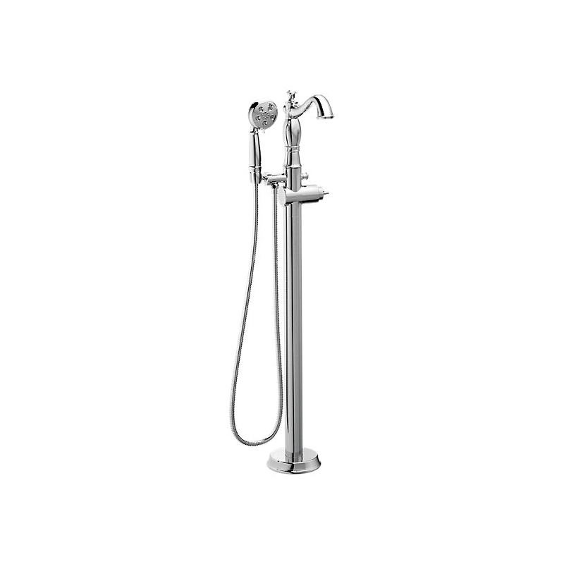 DELTA® T4797-FL-LHP Traditional Tub Filler Trim, Cassidy™, 1.75 gpm Flow Rate, Polished Chrome, Domestic, Commercial