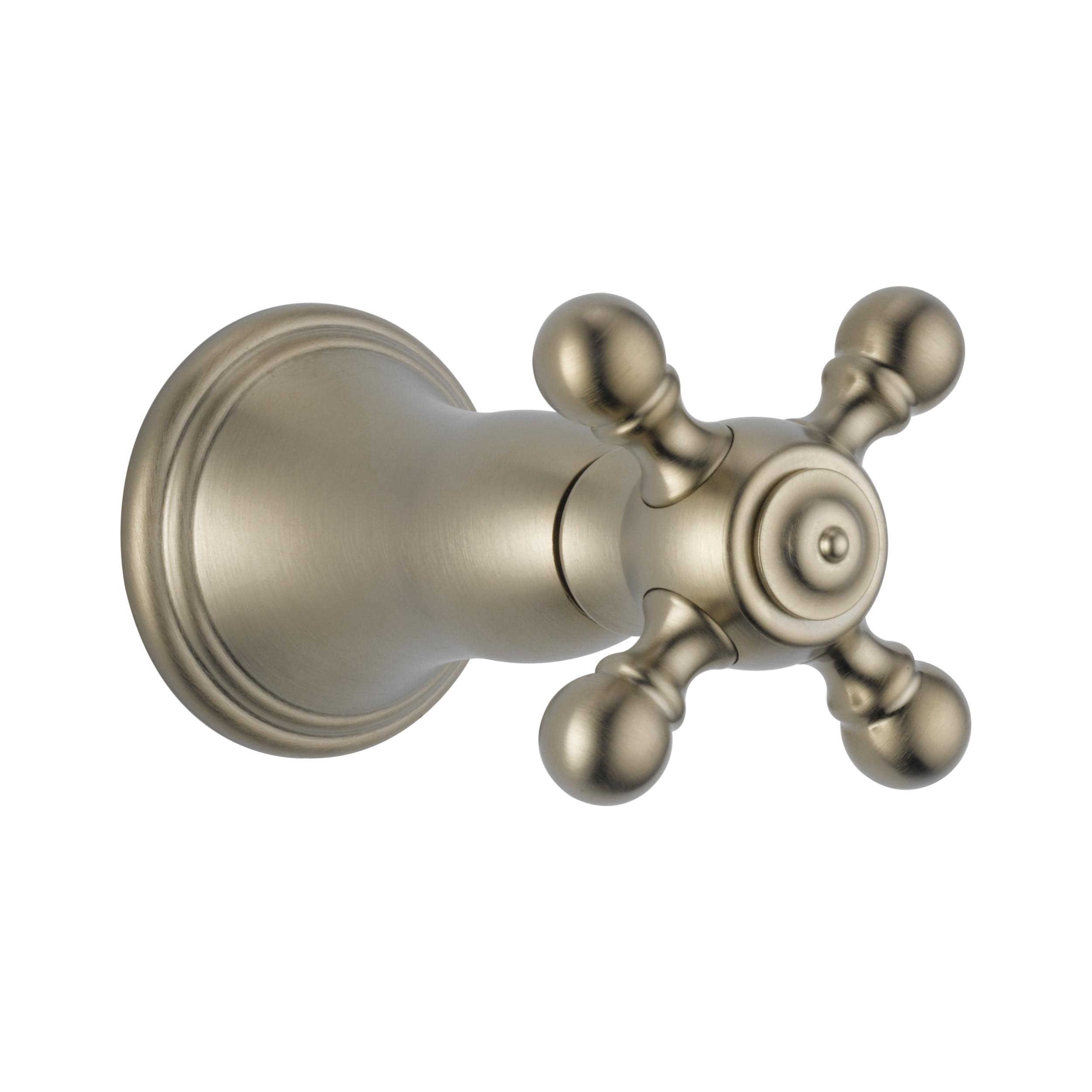Brizo® T66638-BN Volume Control Shower Trim, 9.1 gpm Shower, Brushed Nickel