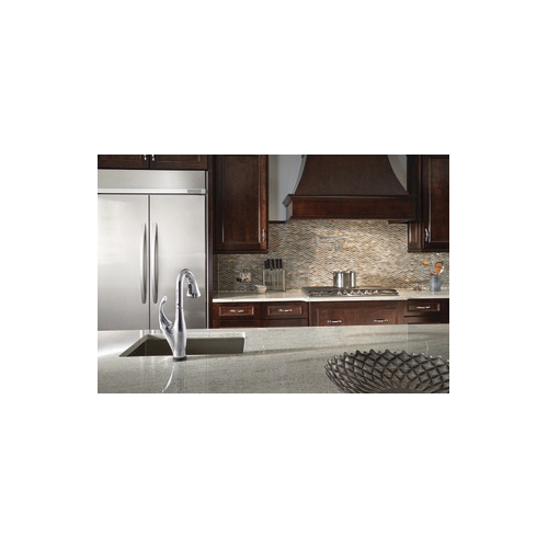 DELTA® 1165LF Contemporary Pot Filler Faucet, 4 gpm Flow Rate, Swivel Spout, Polished Chrome, 2 Handles, Import