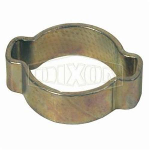 Dixon® 170 Single Ear Pinch-On Clamp, 11/16 in Nominal, 0.595 in Closed Dia x 0.669 in Open Dia x 0.03 in THK, Steel, Domestic