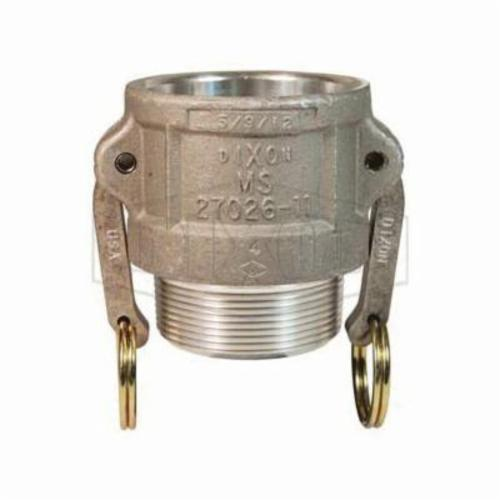 Dixon® 250-A-AL Boss-Lock™ Type A Cam and Groove Adapter, 2-1/2 in, Male Adapter x FNPT, Aluminum