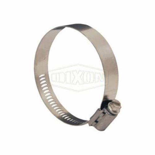 Dixon® 2327 Double Ear Pinch-On Clamp, 1 in Nominal, 0.886 in Closed Dia x 1.063 in Open Dia, Steel, Domestic