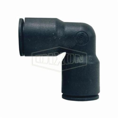 Legris by Dixon® 31025600 Push-In Union Elbow, 1/4 in, Tube, Nylon, Domestic