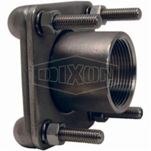 Dixon® 63038 Bolted Fitting, 2 in Nominal, FNPT End Style, Stainless Steel, Domestic