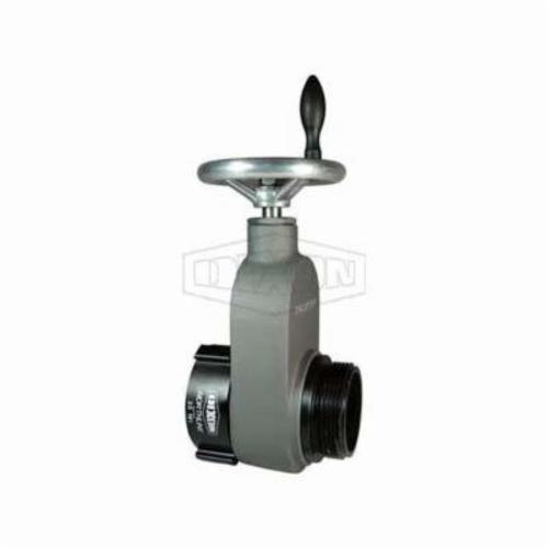 Dixon® WHYD3025F Wharf Hydrant Valve, 3 x 2-1/2 in Nominal, Female NH NST x Male NH NST End Style, 300 psi Pressure, Brass Body