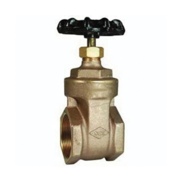 Dixon® AV250 Hose Valve, 2-1/2 in Nominal, FNPT x Male NH NST End Style, Brass Body, Hand Wheel Actuator