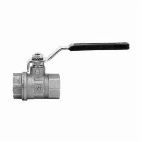 Dixon® BGV50 Gate Valve, 1/2 in, FNPT, Brass Body, Iron Handwheel Actuator