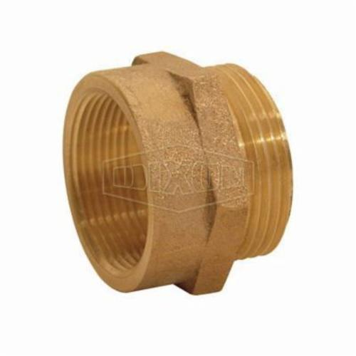 Dixon® FM1010 Hex Female to Male Nipple, 1 in, Brass, FNPT x MNPSH, Domestic