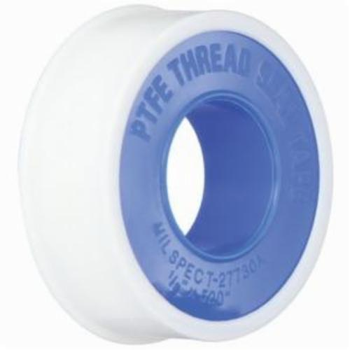 LA-CO® 44072 Non-Toxic Pipe Thread Tape, 520 in L x 1/2 in W x 3 mil THK, PTFE