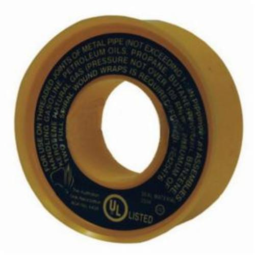Dixon® The Right Connection™ TTA50 Thread Sealant Tape, 260 in L x 1/2 in W x 3.5 mil THK, PTFE