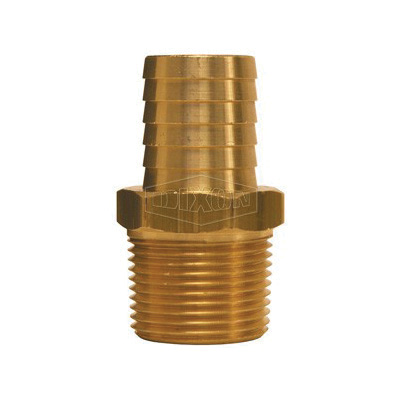 Dixon® 100-E-AL Boss-Lock™ Type E Cam and Groove Adapter, 1 in, Male Adapter x Hose Shank, Aluminum