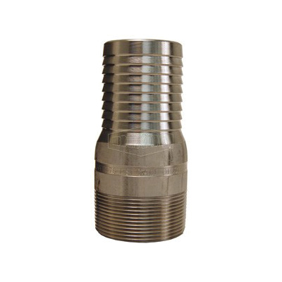 Dixon® RST15 King™ Combination Nipple, 1-1/4 in x 3-15/16 in L Hose x MNPT, 316 Stainless Steel