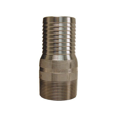 Dixon® RST20 King™ Combination Nipple, 1-1/2 in x 4-5/32 in L Hose x MNPT, 316 Stainless Steel, Domestic