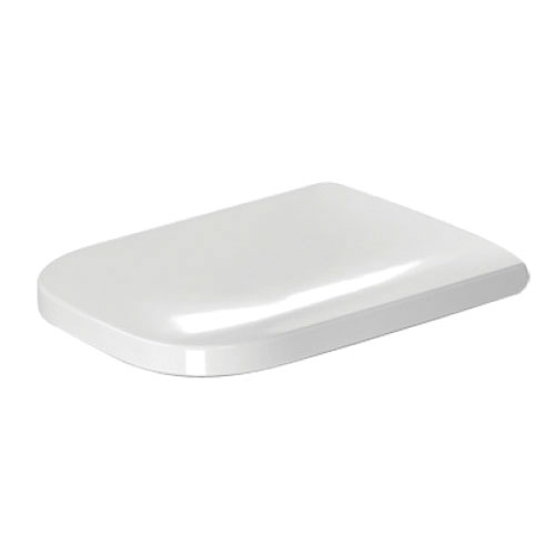 DURAVIT 0064590000 Happy D.2 Removable Toilet Seat With Cover, Elongated Bowl, Ceramic, Soft Closure Hinge, White Alpin